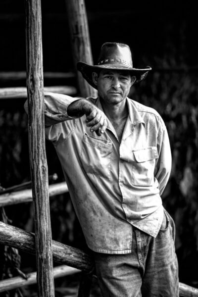 A farmer in Vinales Valley taken on the 70-200mm lens.